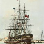 Activities | Repulse, an East Indiaman from the same period and similar in size to the Arniston