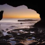 Activities | Cave inside sunset